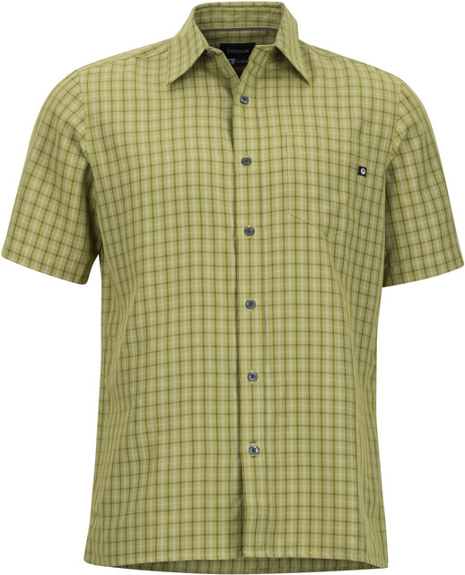 Marmot M's Eldridge SS Shirt Wheatgrass